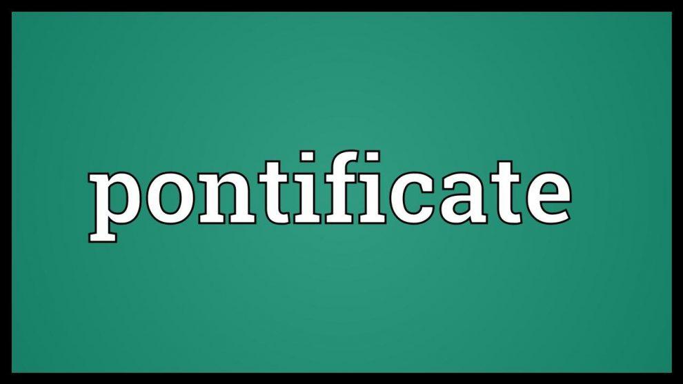 pontification