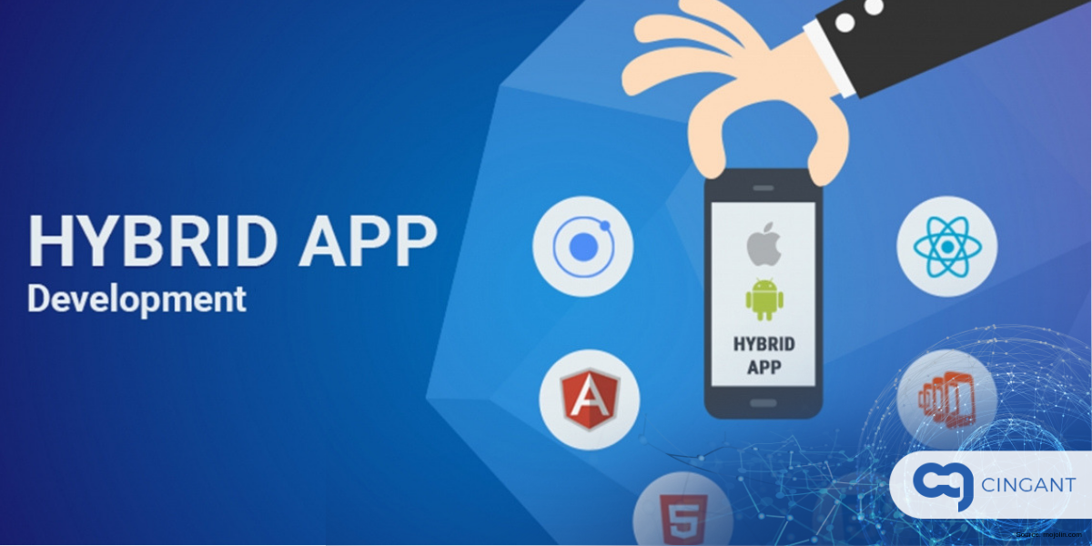 hybrid and custom app