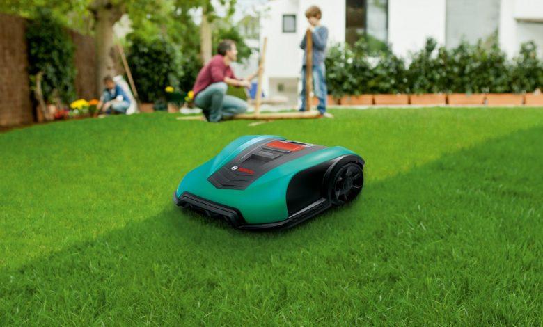 robotic lawnmover